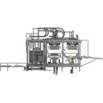 MT/FP-80-3: pulp thermoforming machines with three drying stations