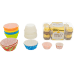 Round cupcake cups